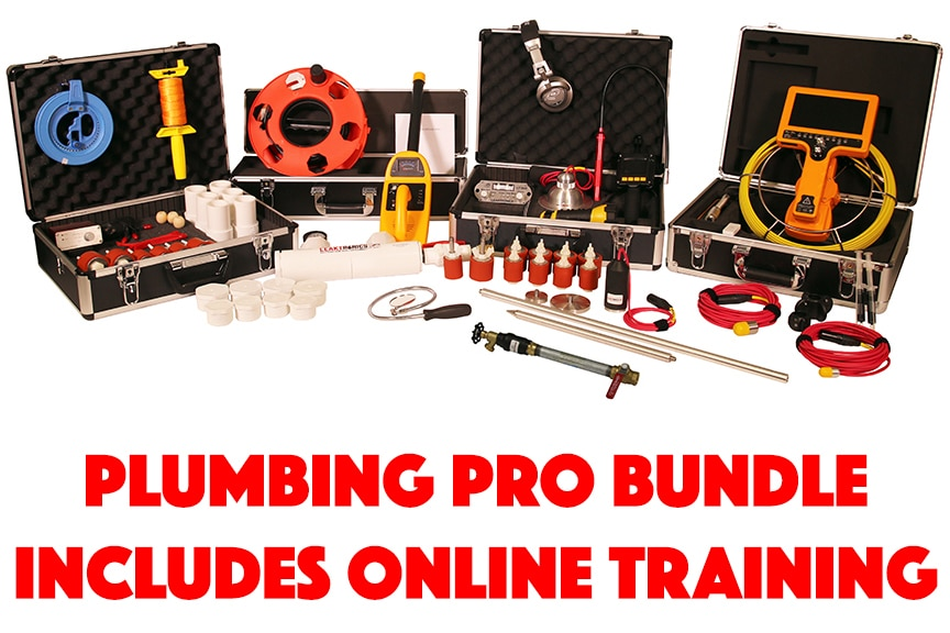Plumbers Pro Equipment Bundle